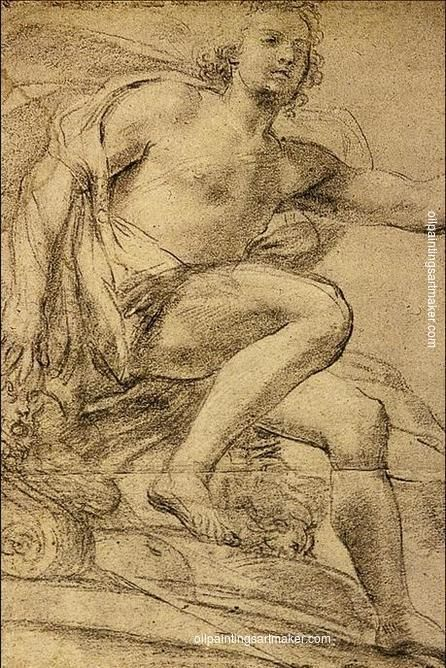 Domenico Veneziano Study of Apollo - Domenico Veneziano painting for sale paypal payment, painting Authorized official website