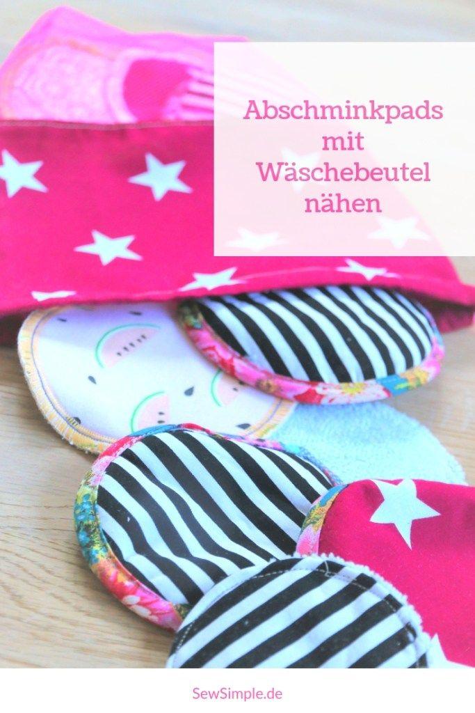 Photo of Abschminkpads nähen: Einfach selber machen mit Gratis-Anleitung
