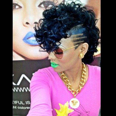Keyshia Ka Oir Brings Ka Oir Cosmetics To Imats Nyc 2013