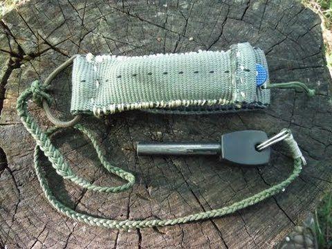 ▶ DIY Pocket Knife Pouch Sheath - YouTube