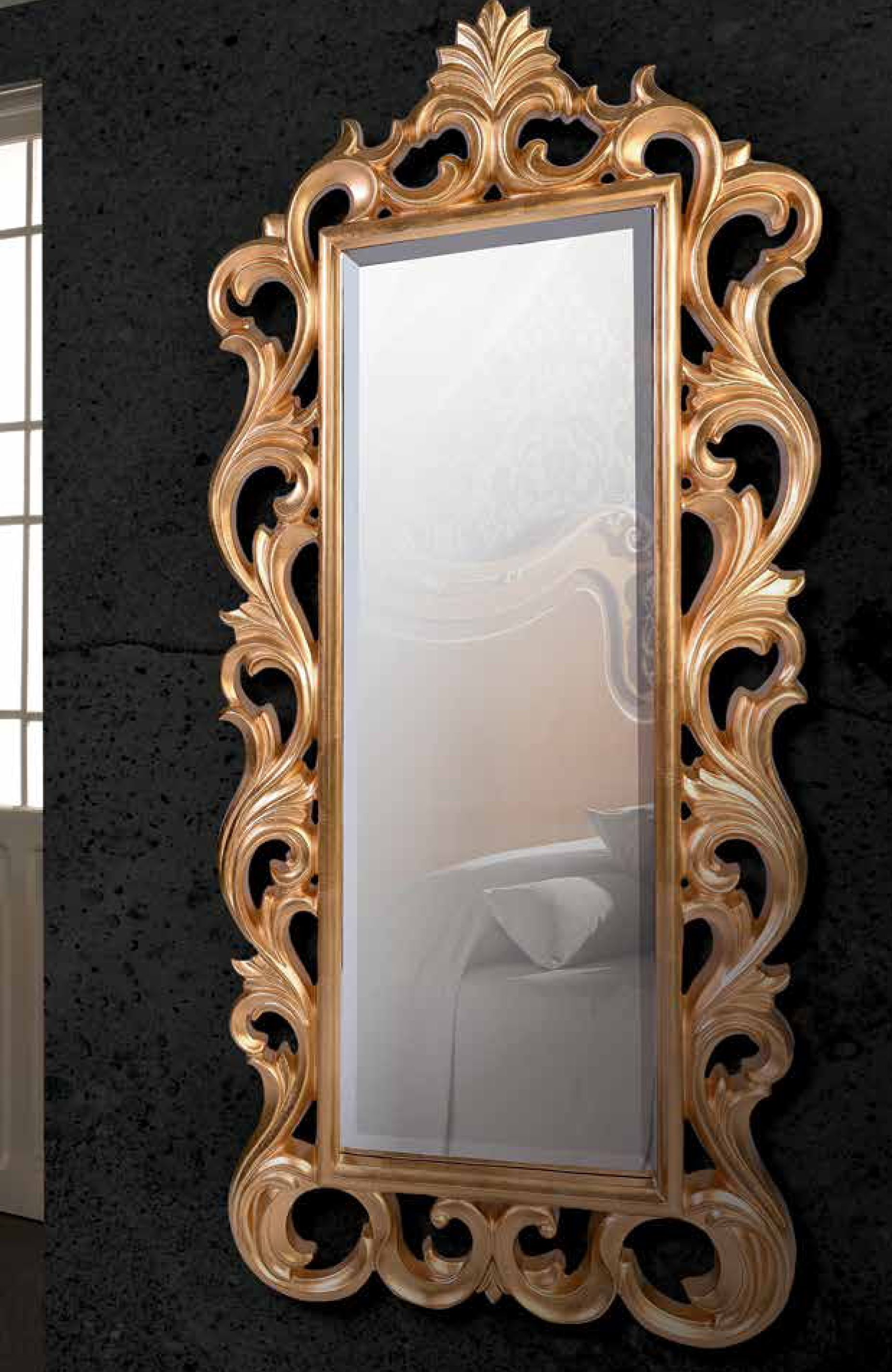Espejo Rectangular, Espejo De Cristal, Espejo De Dise O Cl