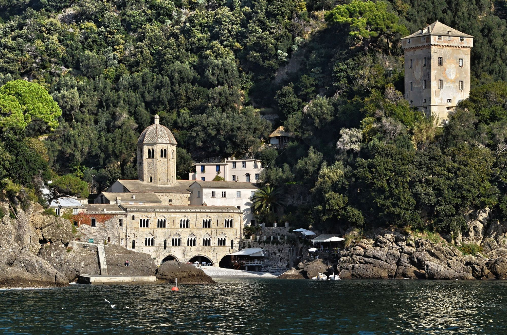 San Fruttuoso Abbey, Italy by Angelo Ferraris on 500px
