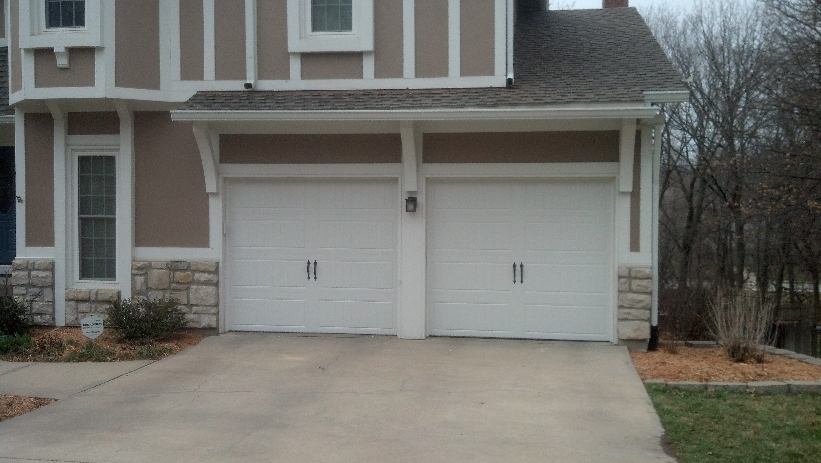 1840 #446C87  Insulated Garage Doors Installed By Royal Garage Door Royaldoor.com pic Installed Garage Doors 37213264
