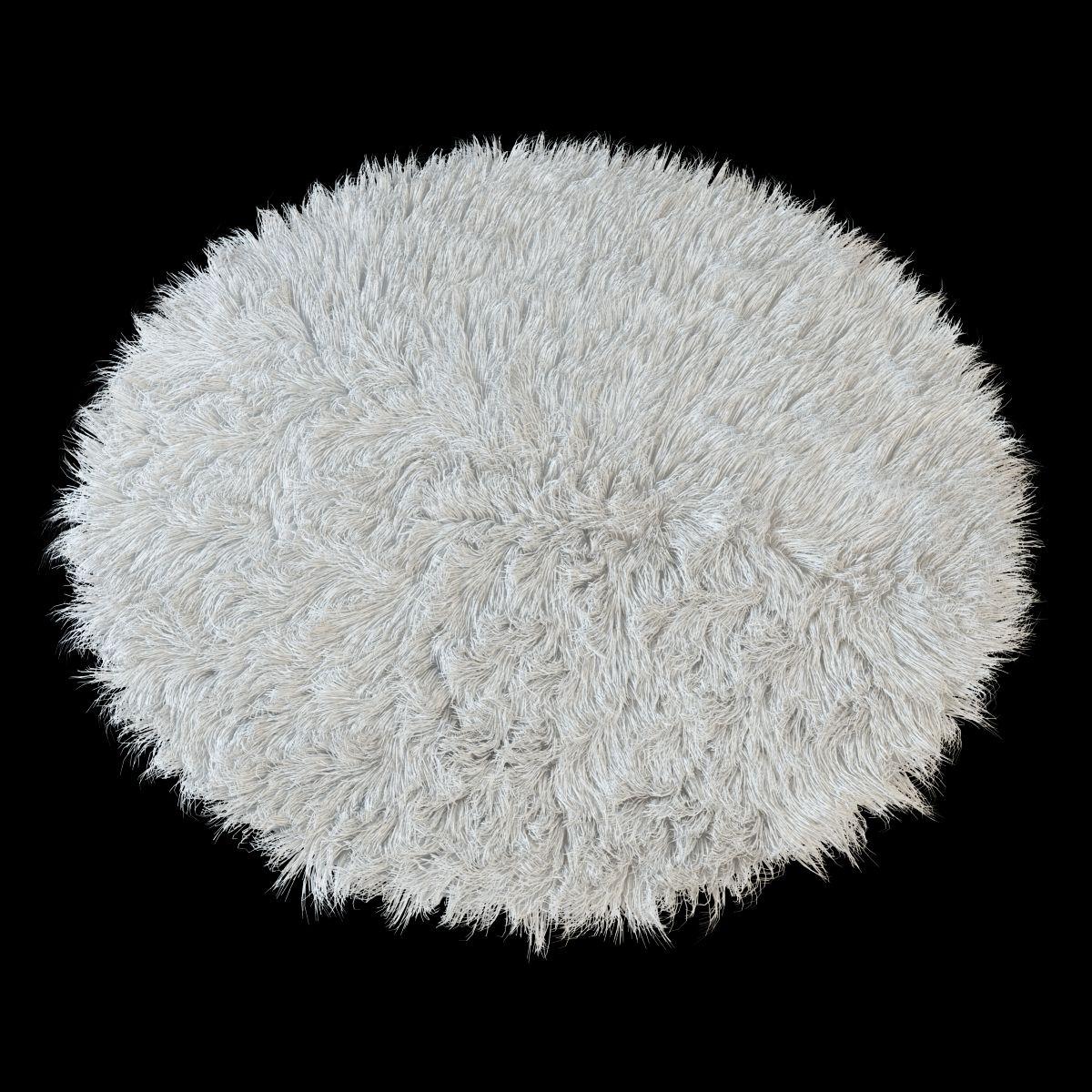 Round Rug Flokati With Images Round Rugs Flokati