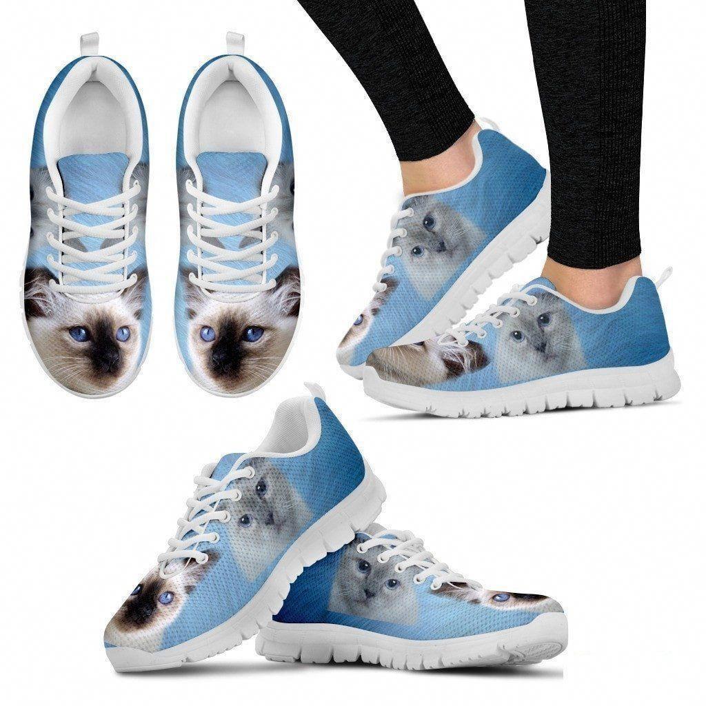 CatsGivingBirth Print sneakers, Birman cat, Kids