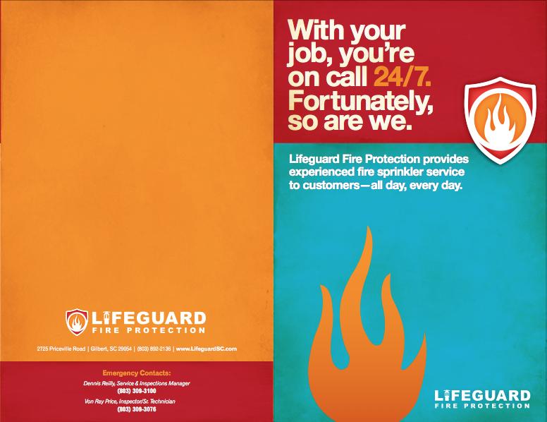 Lifeguard Brochure Lifeguard Love My Job Fire Protection