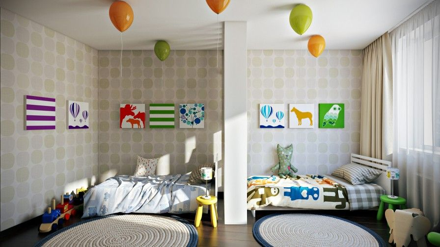 Sibling Spaces 3 Design Tips For Your Kids Shared Room Kids Room Divider Modern Kids Room Colorful Kids Room