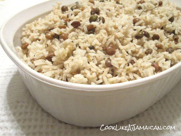 jamaican gungo peas and rice recipe  cook like a