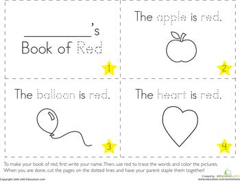 the color red alphabet worksheets preschool worksheets and learning colors. Black Bedroom Furniture Sets. Home Design Ideas