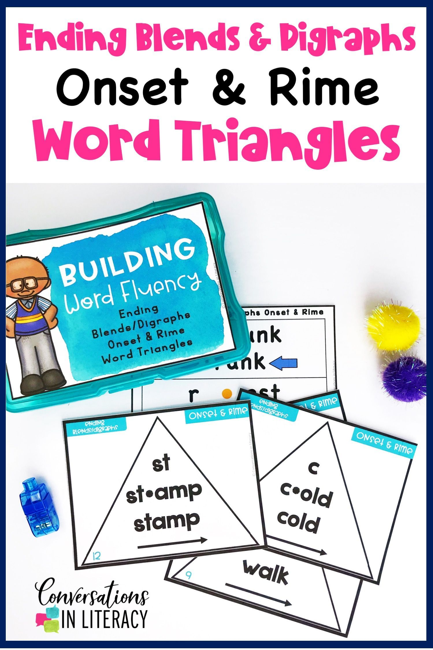 Ending Blends And Digraphs Onset And Rime Building Word