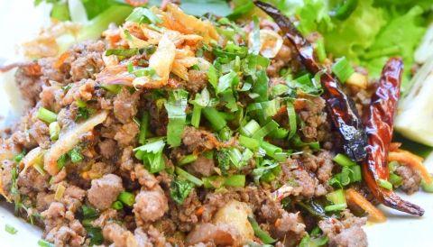 Lao beef larb salad salads laos food and cuisine lao beef larb salad laos recipesasian food forumfinder Image collections