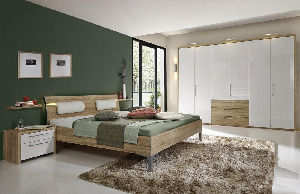 Schlafzimmer Spiegelschrank ~ Schlafzimmer arktis plus u u hochglanz weiß weiß matt best aus