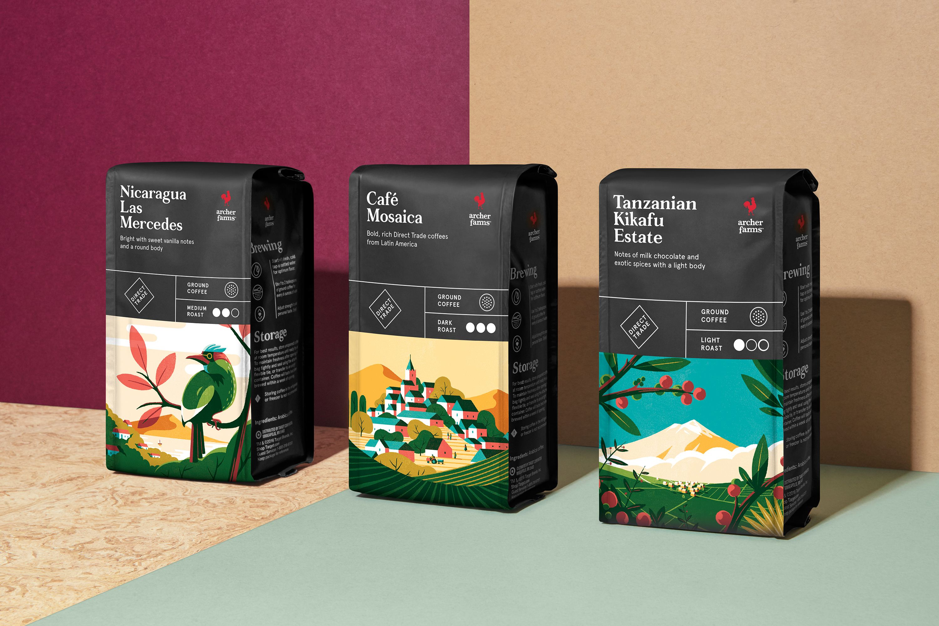 Target was the first mass-retailer to offer fair trade coffee to its millions of guests. Knowing their shoppers are increasingly curious about product sourcing and large-scale impact, the brand recently revitalized their assortment of Archer Farms coffee …