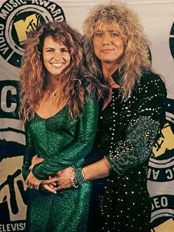 David Coverdale and Tawny Kitaen. One of my favorite couples in the 80's. Tawny rocked it!