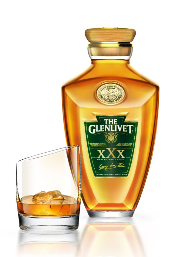 The Glenlivet bottle : 30 years of age by Idir Bechar, via Behance ...