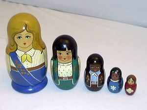Girl Scout Russian Nesting Dolls Want Make Own Set Daisy Into Brownie