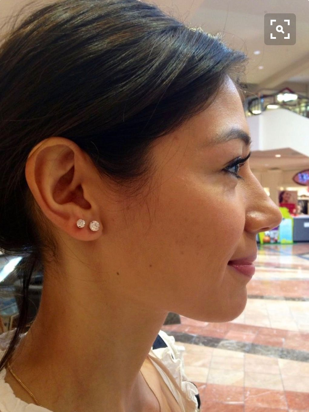 Double piercing nose ring  go follow  ngarciia asap   Piercing  Pinterest  Ear