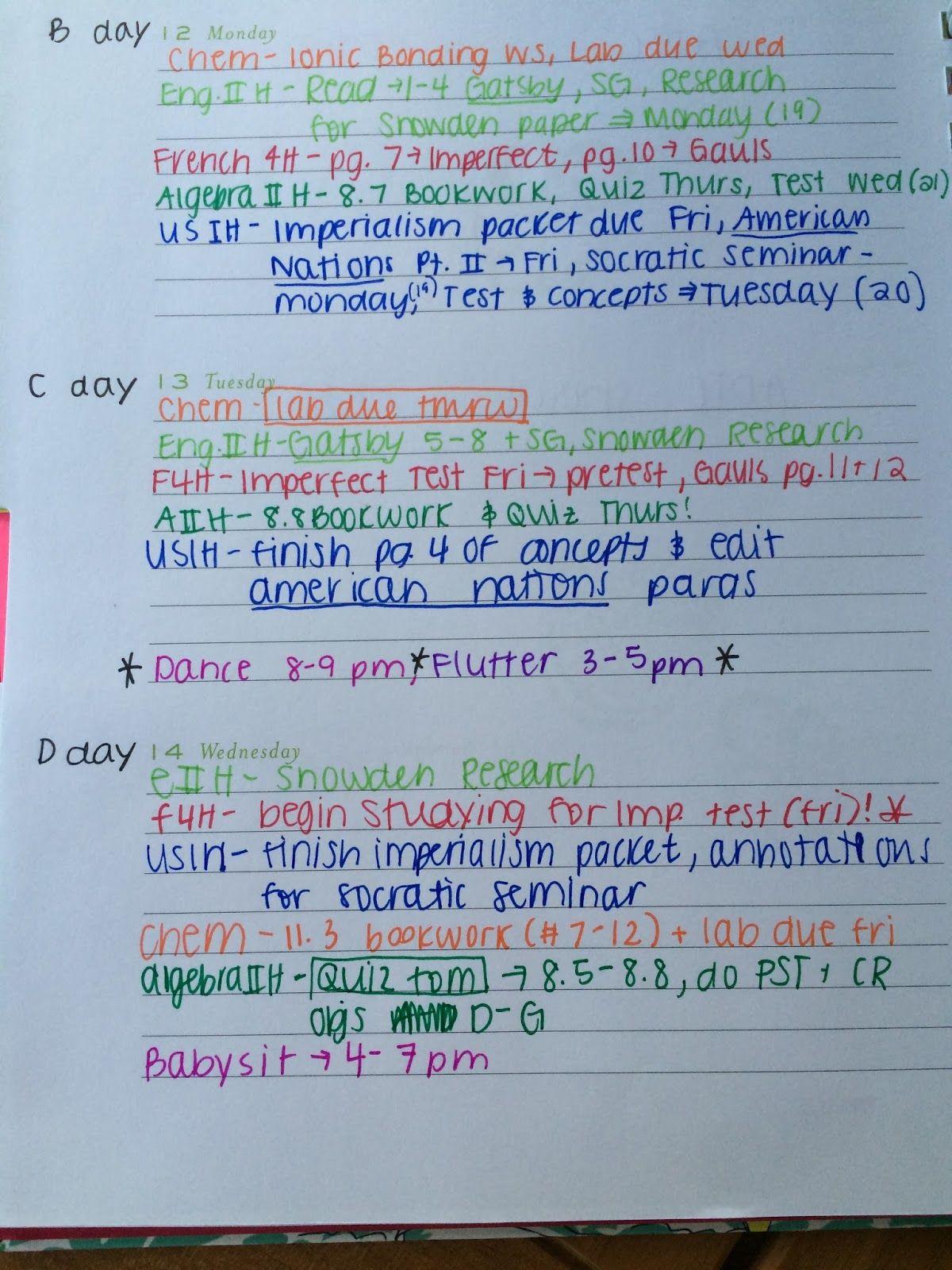 Agenda Organization Tips  O R G A N I Z E
