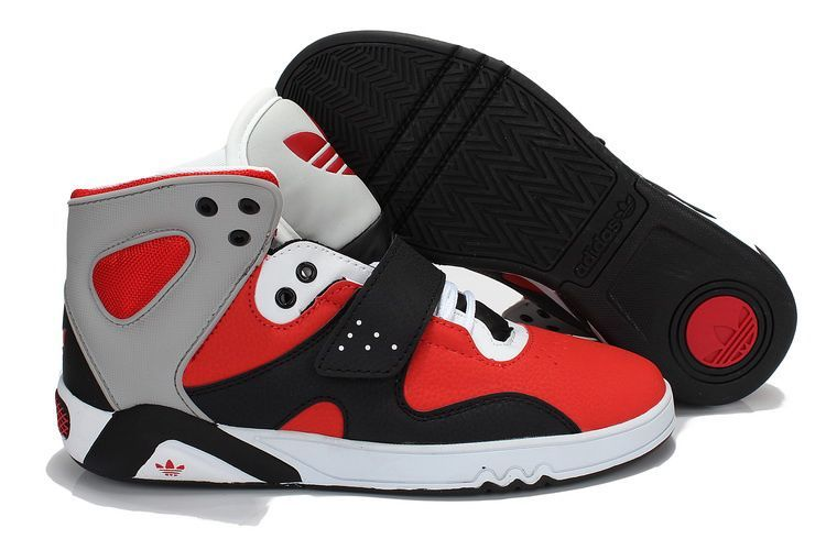 the latest 8267f afc05 Adidas Roundhouse Mid Red Black Grey  Adidas Roundhouse Mid Red Black Grey   -  84.00   Cheap Supra Shoes For Sale Online