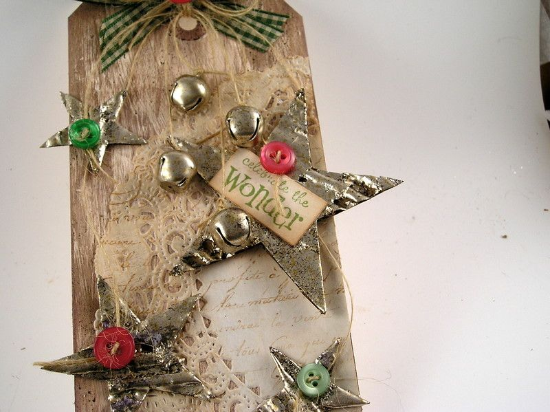 Suzz's Stamping Spot: Country Christmas Tag