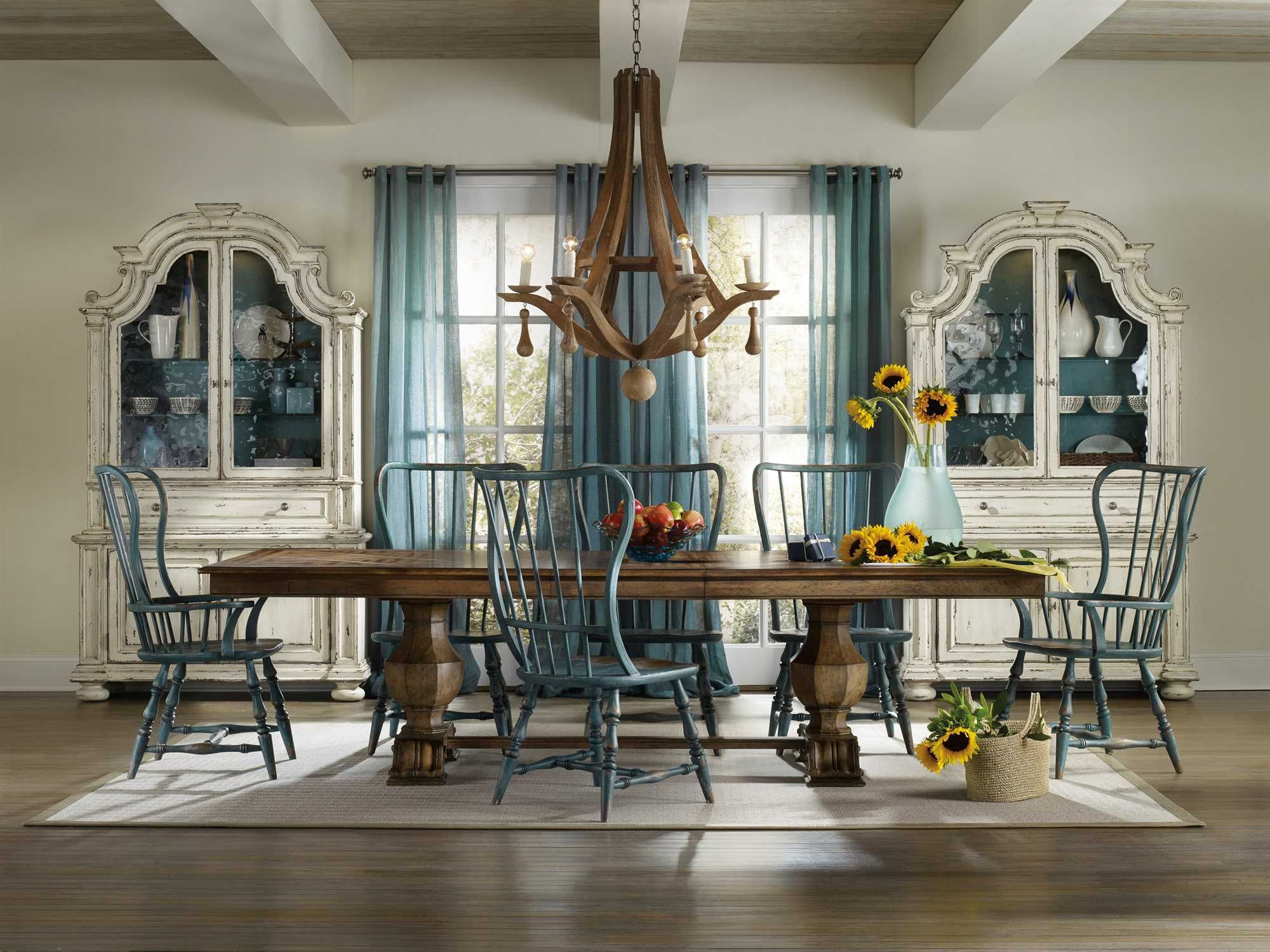 Hooker Furniture Sanctuary Traditional Casual Dining Room Set ...