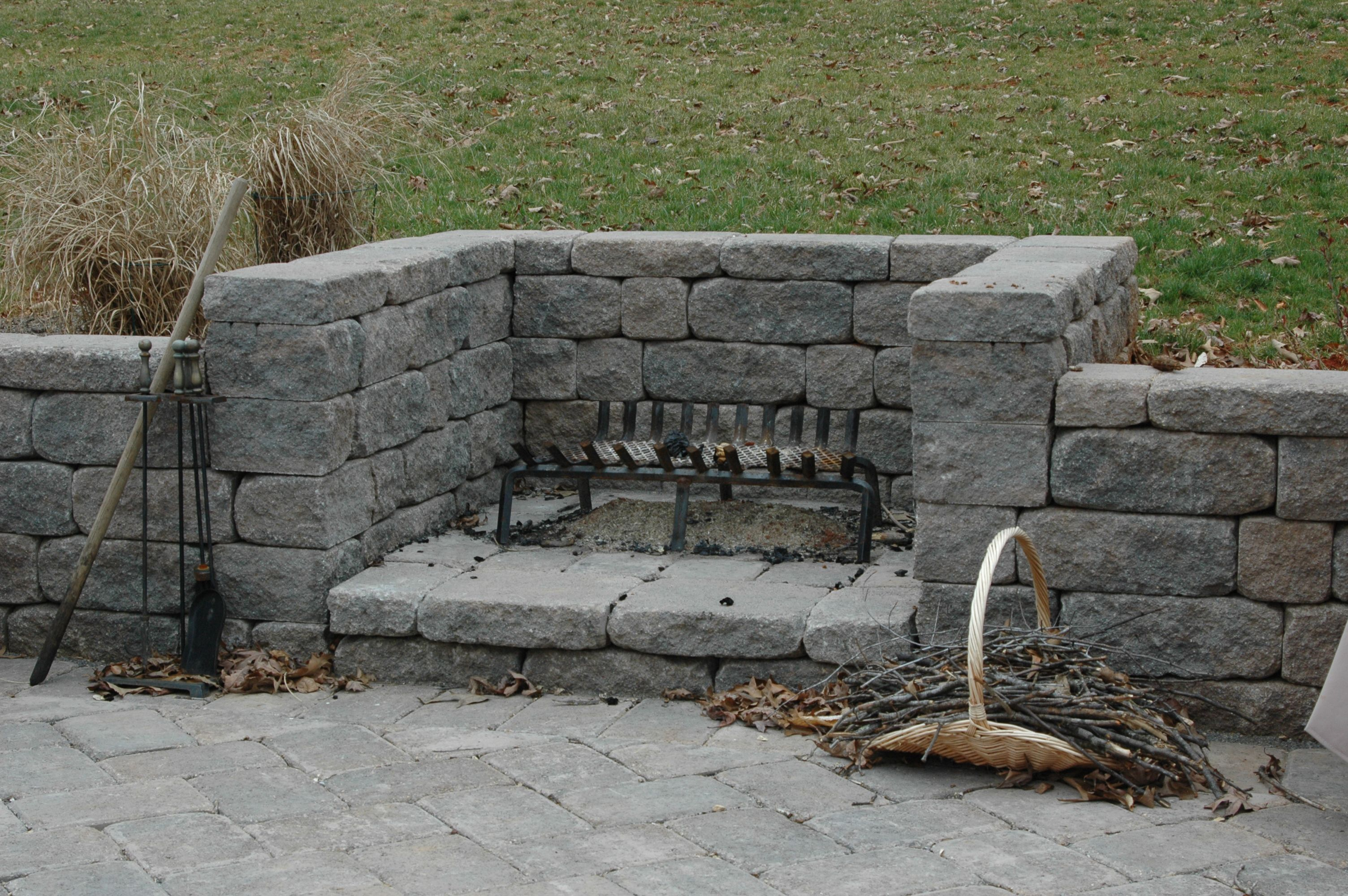 Nice Intimate Outdoor Fire Place Built By Waynesboro Nurseries A Company Run