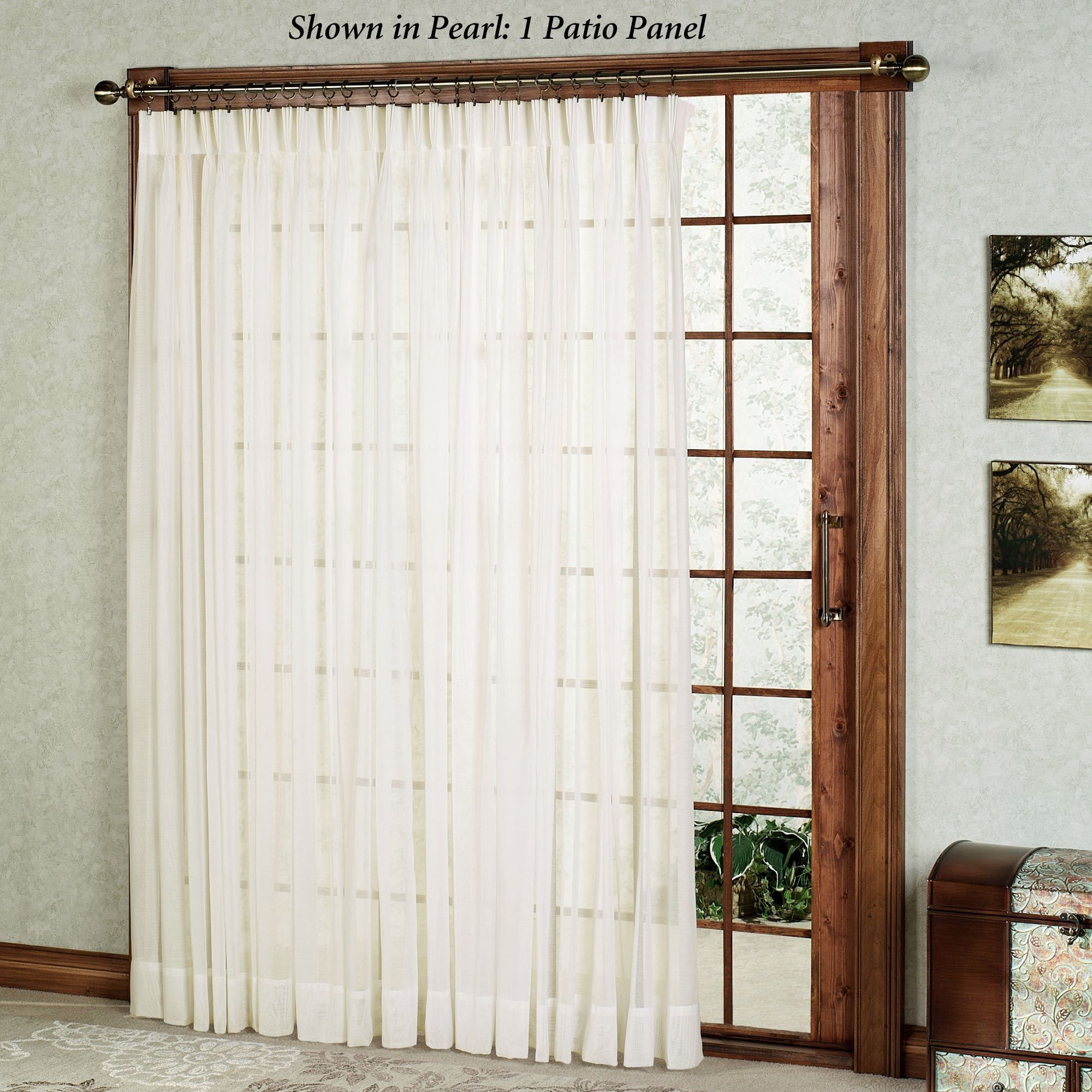 Window coverings types  patio door sheer curtain panels  bukuweb  pinterest