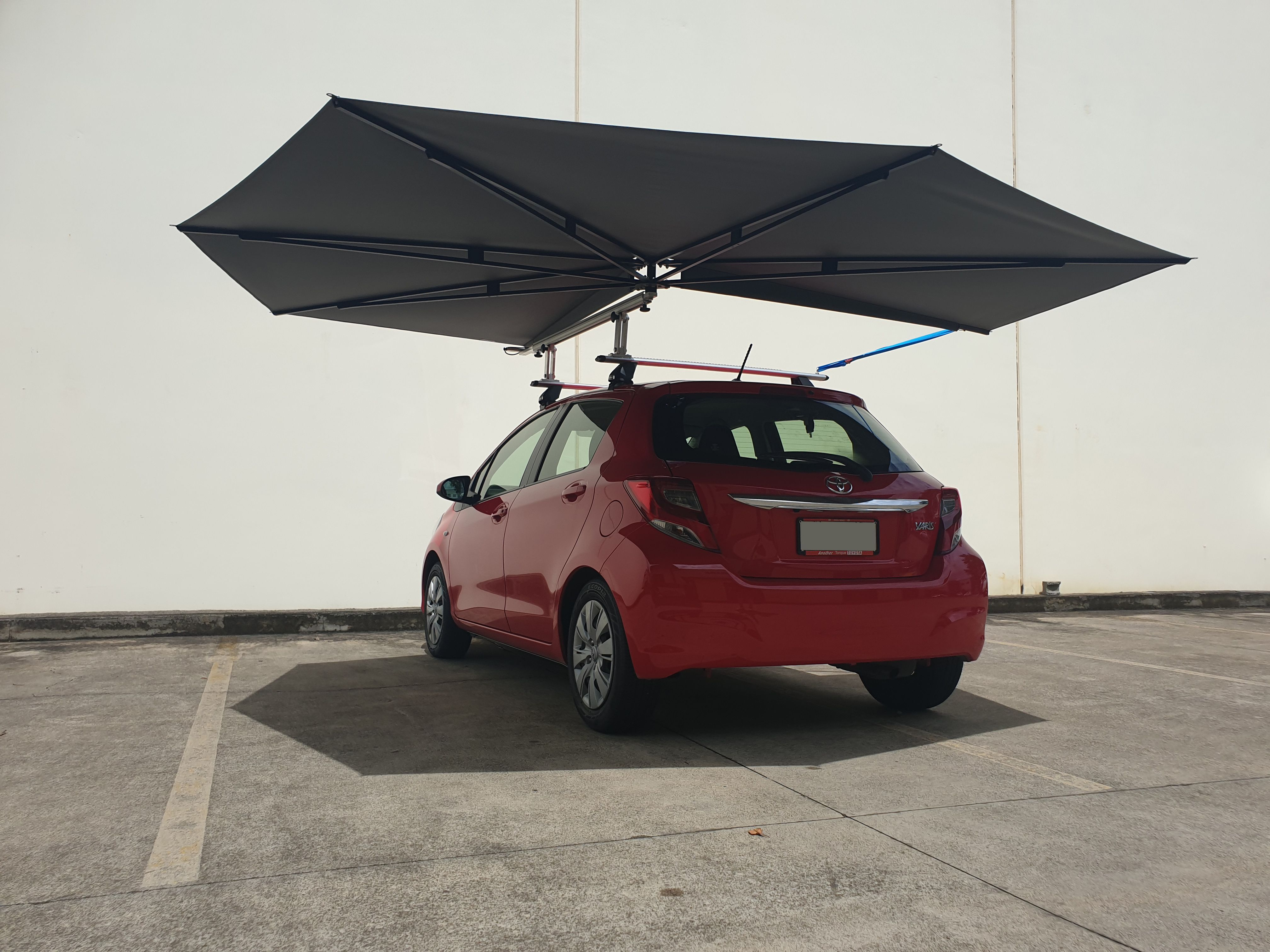 Clevershade 4wd Vehicle Awning 4wd Shade Accessories Nel 2020 Tende