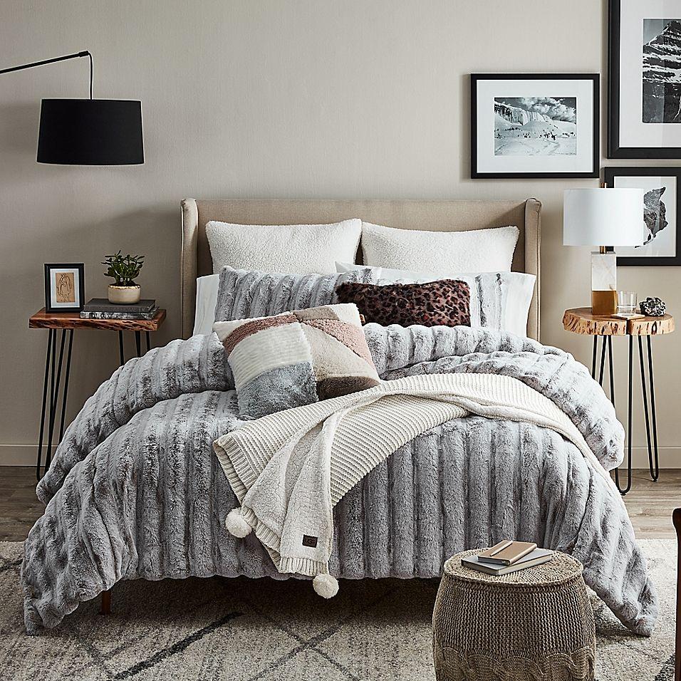 UGG Wilder King Duvet Cover Set In Cashew Comforter sets