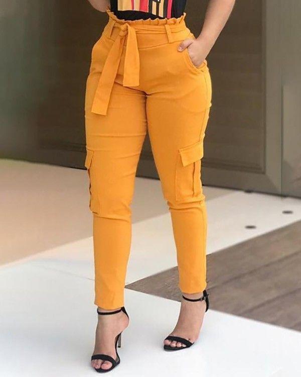 Pantalones De Cintura Alta Pantalon De Vestir Dama Pantalones De Moda Pantalones De Vestir Mujer