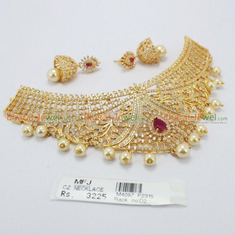 Ad Choker Necklace Set Online
