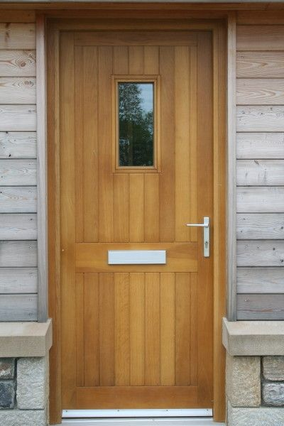 Bespoke timber External doors & Bespoke timber External doors | Communal Timber Doors | Pinterest ...