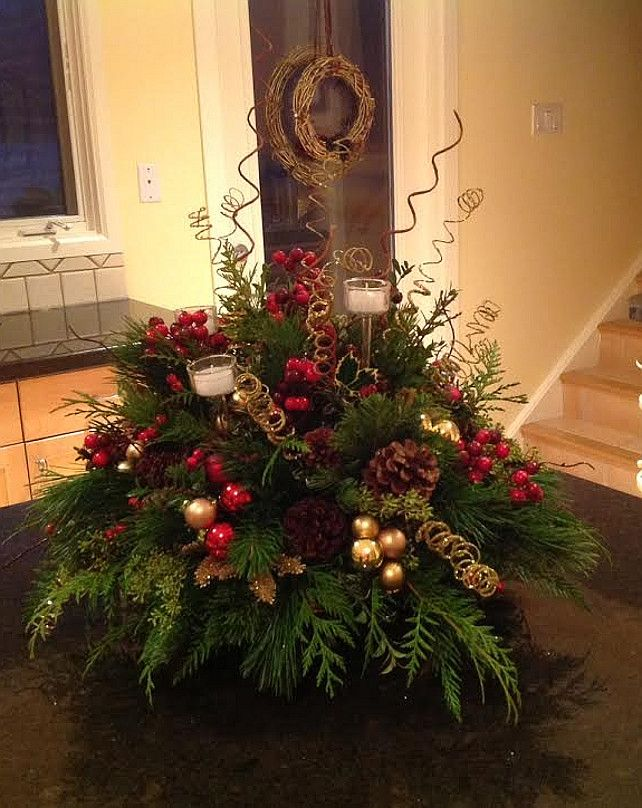 Christmas Centerpiece Christmas Centerpiece #ChristmasCenterpiece