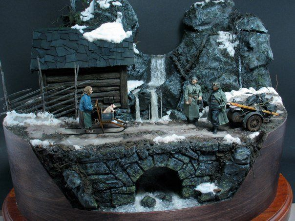 masterpiece by the wonderful diorama maker Per Olav Lund