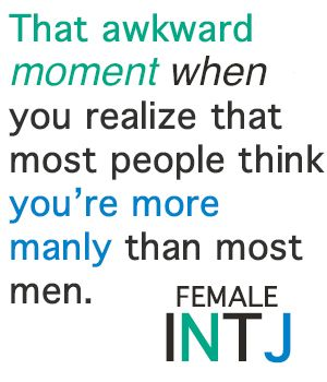 The difference in an INTJ female vs  other females is