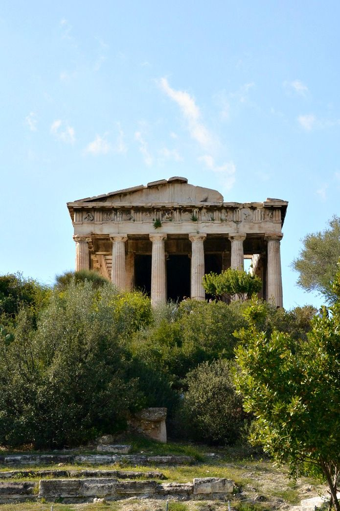 Temple Of Hephaestus In Athens Greece For More On What To See