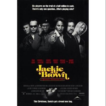 Jackie Brown Movie Poster 11 X 17 Walmart Com In 2021 Jackie Brown Film Jackie Brown Tarantino Films