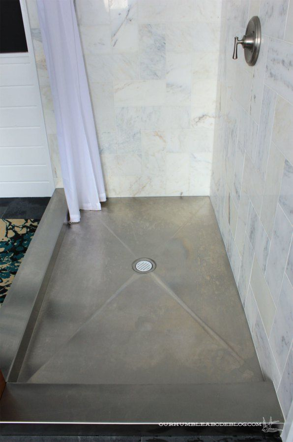 Stainless Steel Shower Floor Pan.Stainless Steel Shower Pan Expect Water Spots I Don T
