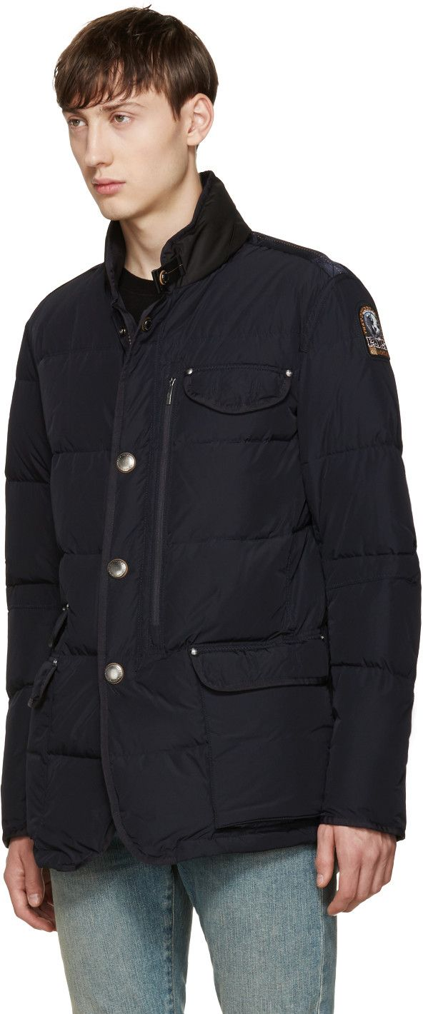 Parajumpers - Black Down Blazer Jacket
