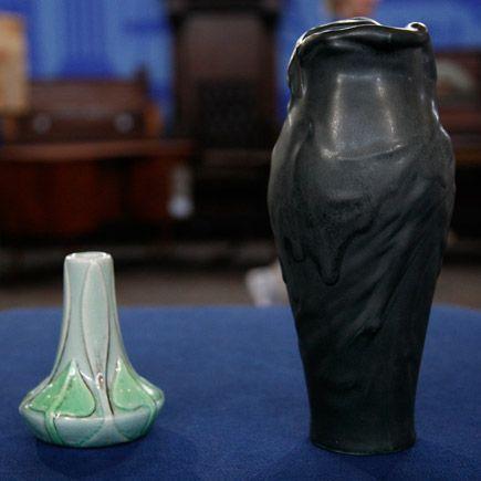 Two Van Briggle Vases ca. 1902