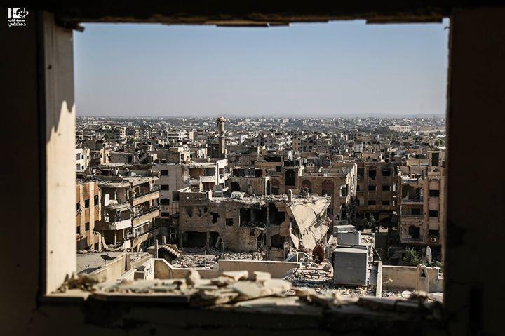 جوبر بعدسة مصورنا الحمدلله على سلامته رحبوا برجعته D جوبر دمشق في 25 10 2016 Jobar Damascus On 25 10 2016 Syria Damascus دمشق Paris Skyline Skyline Photo