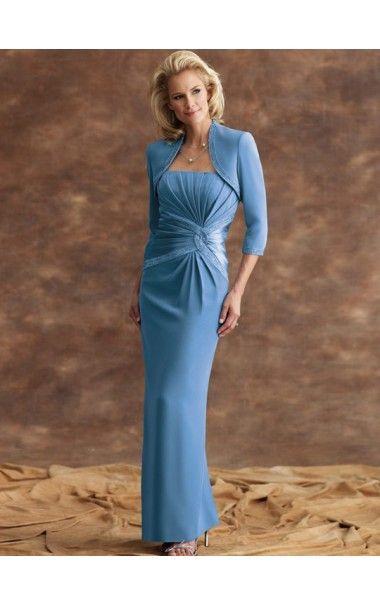 Elegance Strapless Floor-Length Dress