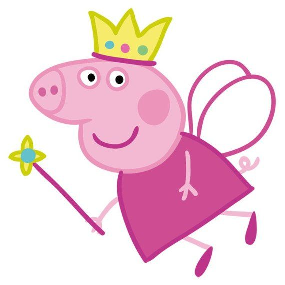 Peppa pig crown | Peppa pig party | Peppa pig birthday | Peppa costume | Peppa pig headband | Peppa birthday party | baby shower