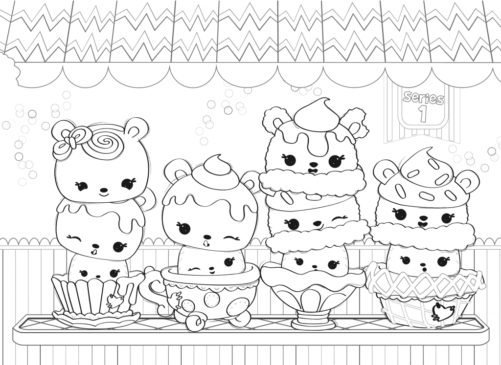 Num Noms Coloring Pages - Best Coloring Pages For Kids Cute Coloring  Pages, Coloring Pages For Kids, Coloring Pages