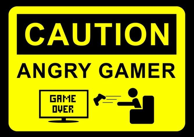 Caution Angry Game Gamer Quotes Gamer Humor