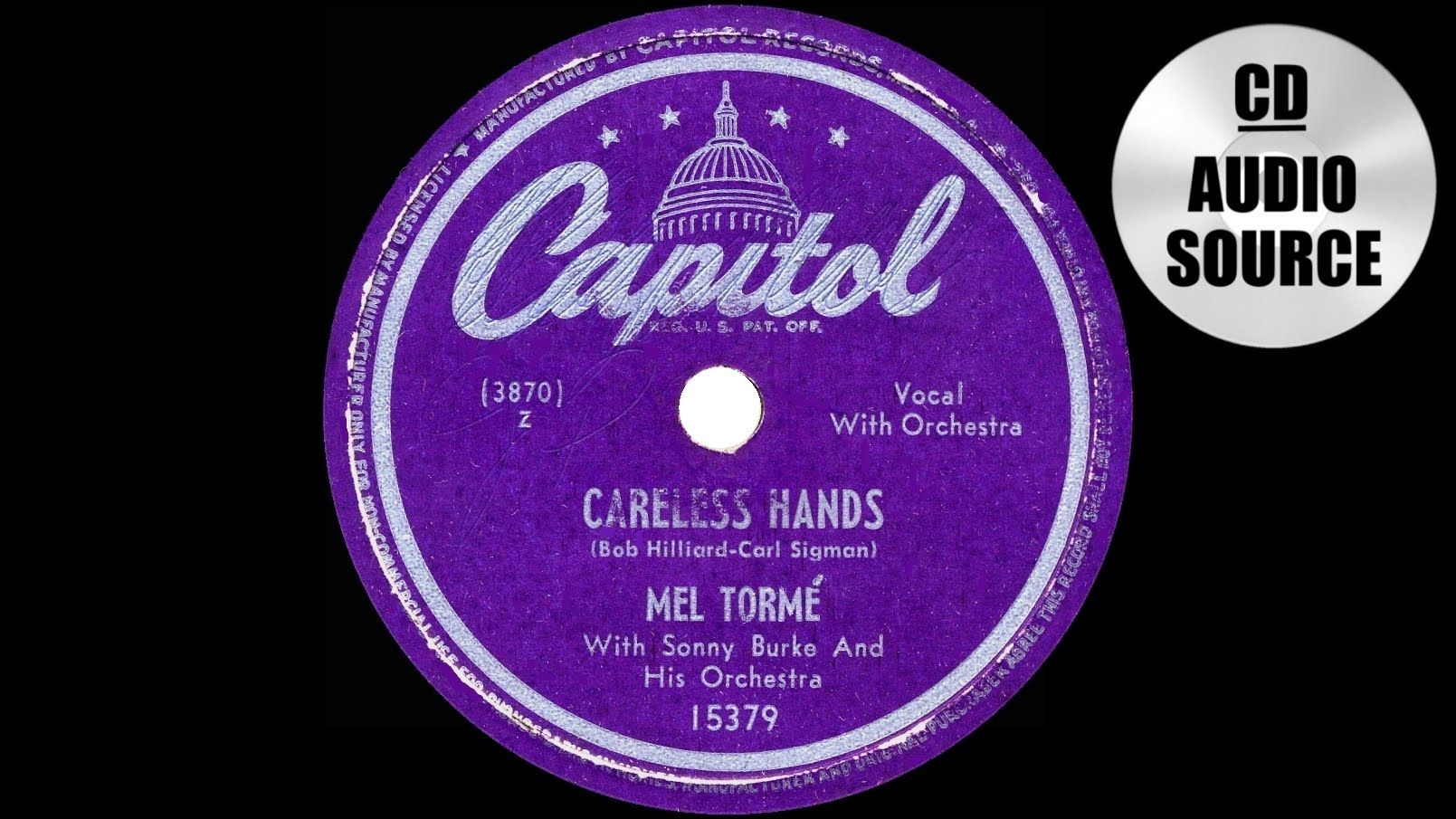 1949 HITS ARCHIVE: Careless Hands - Mel Torme (a #1 record)
