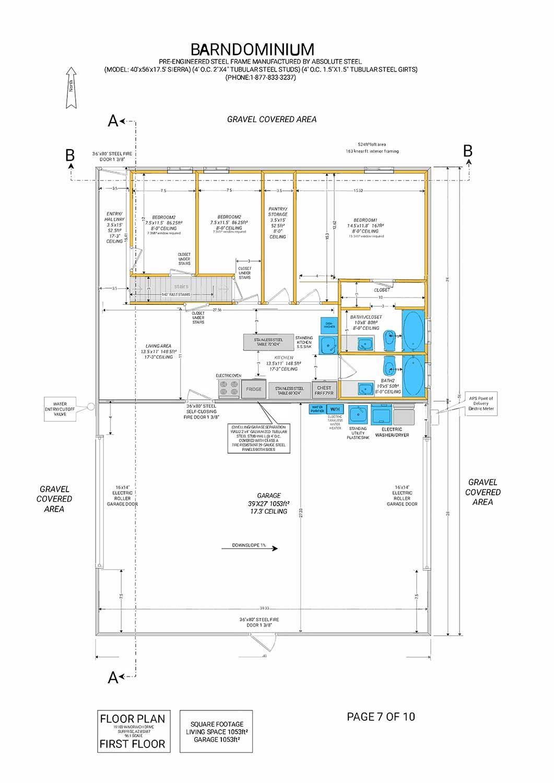 Barndominium Combination Barn And Condominium Barndominium How To Plan House Plans