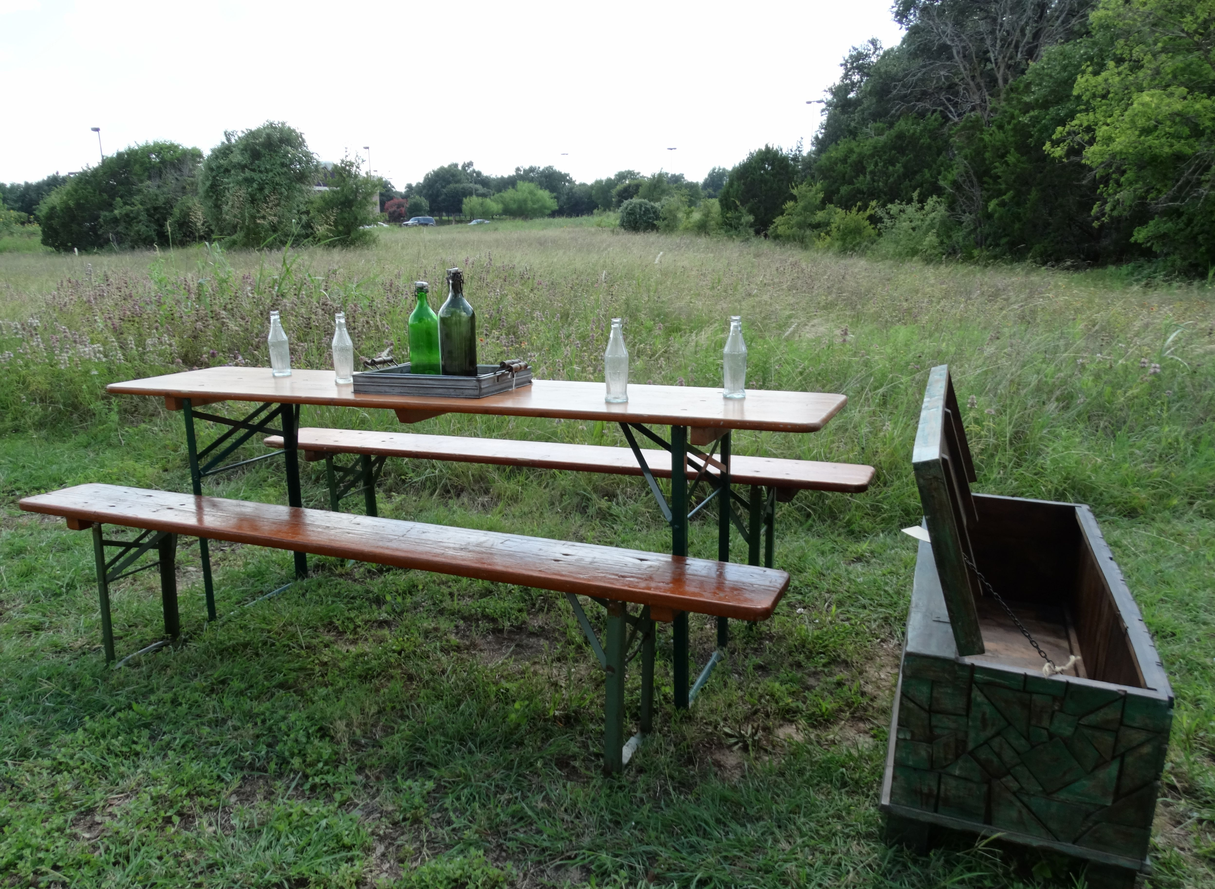 This Beer Garden Table Was Made From Spruce In The 1980s In The Stuttgart Area Of Southwest Germany Although These Lo Garden Table Upscale Furniture Furniture
