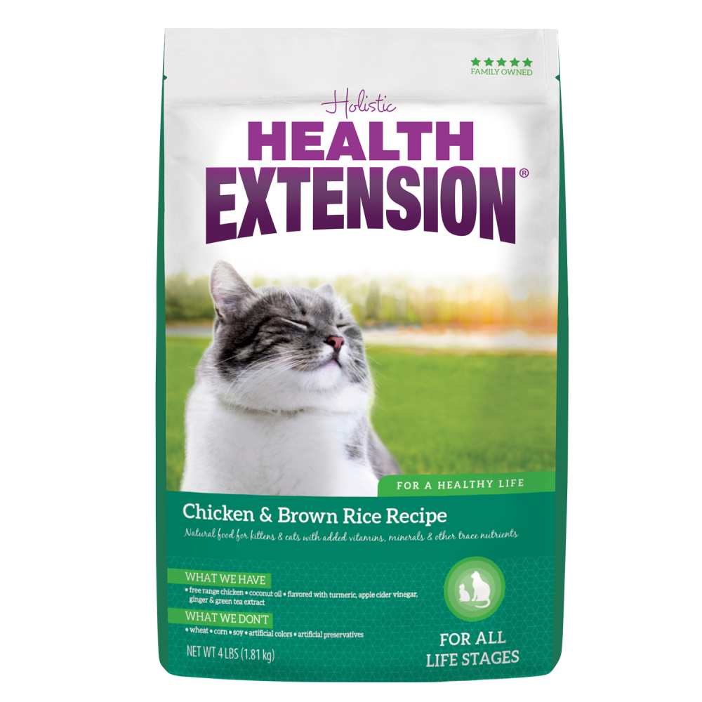 Health Extension Chicken Brown Rice All Life Stages Dry Cat Food Brown Rice Recipes Chicken Brown Rice Dry Cat Food