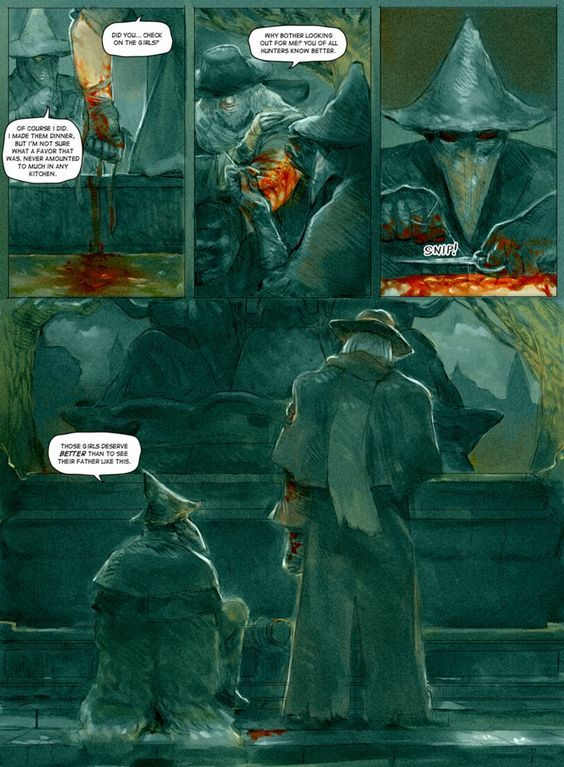Eileen the Crow and Father Gascoigne PAGE 7 [END] by Barukurii:
